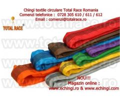 Chingi ridicare, chingi macarale, chingi textile , sufe de ridicat Total Race