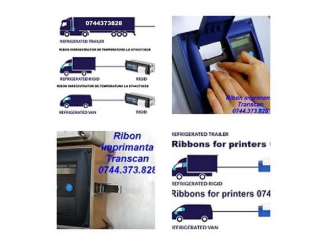Ribon tus Hartie inregistrator termodiagrame Transcan,ThermoKing, DataCold Carrier, Euroscan, TouchP