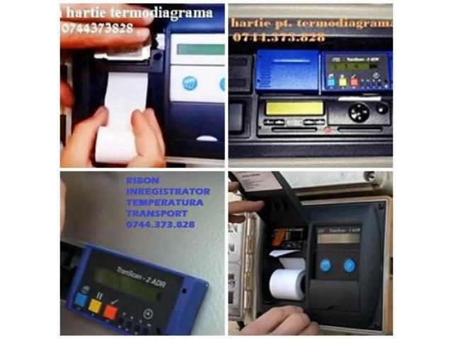 Benzi tusate si role hartie Transcan, Tkdl, Thermo King, Datacold Carrier, Termograf, Touchprint, Es