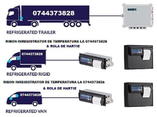 Casete Benzi tusate si role hartie ThermoKing, Transcan, Datacold Carrier, Termograf, Touchprint, Es