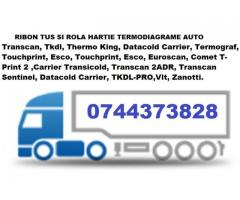Cartus tusat si Rola hartie DATACOLD CARRIER, THERMO KING TKDL, TRANSCAN, ESCO DR, DATACOLD CARRIER,